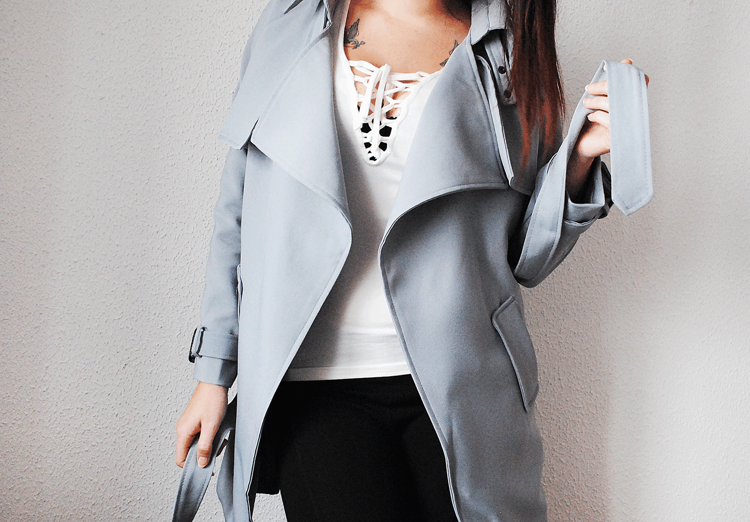 nter Warm Trench Coat Long Loose Jacket Outwear Parka Overcoat_www.frenchvanilla.eu