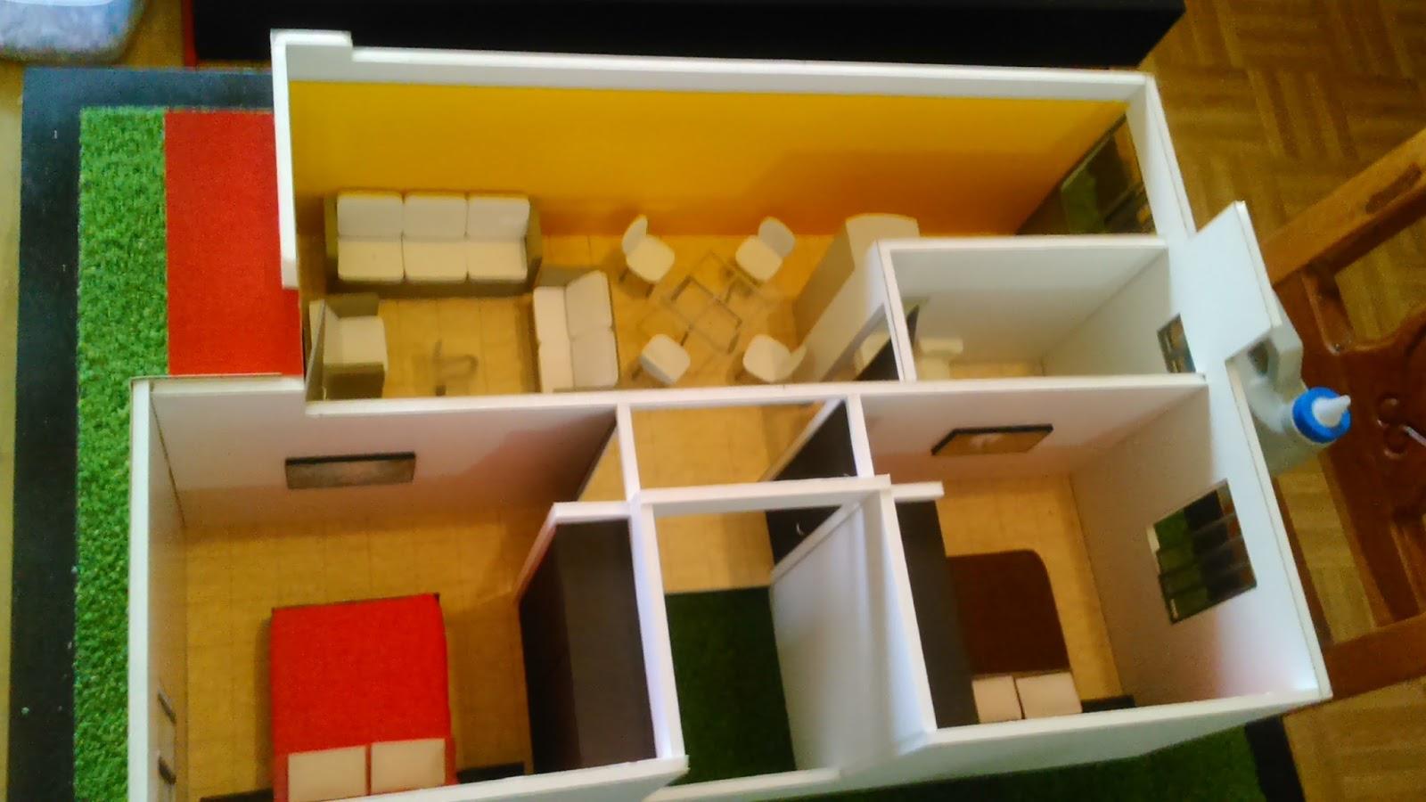 Maquetas profesionales prototipo de vivienda rural p - Maquetas y prototipos ...