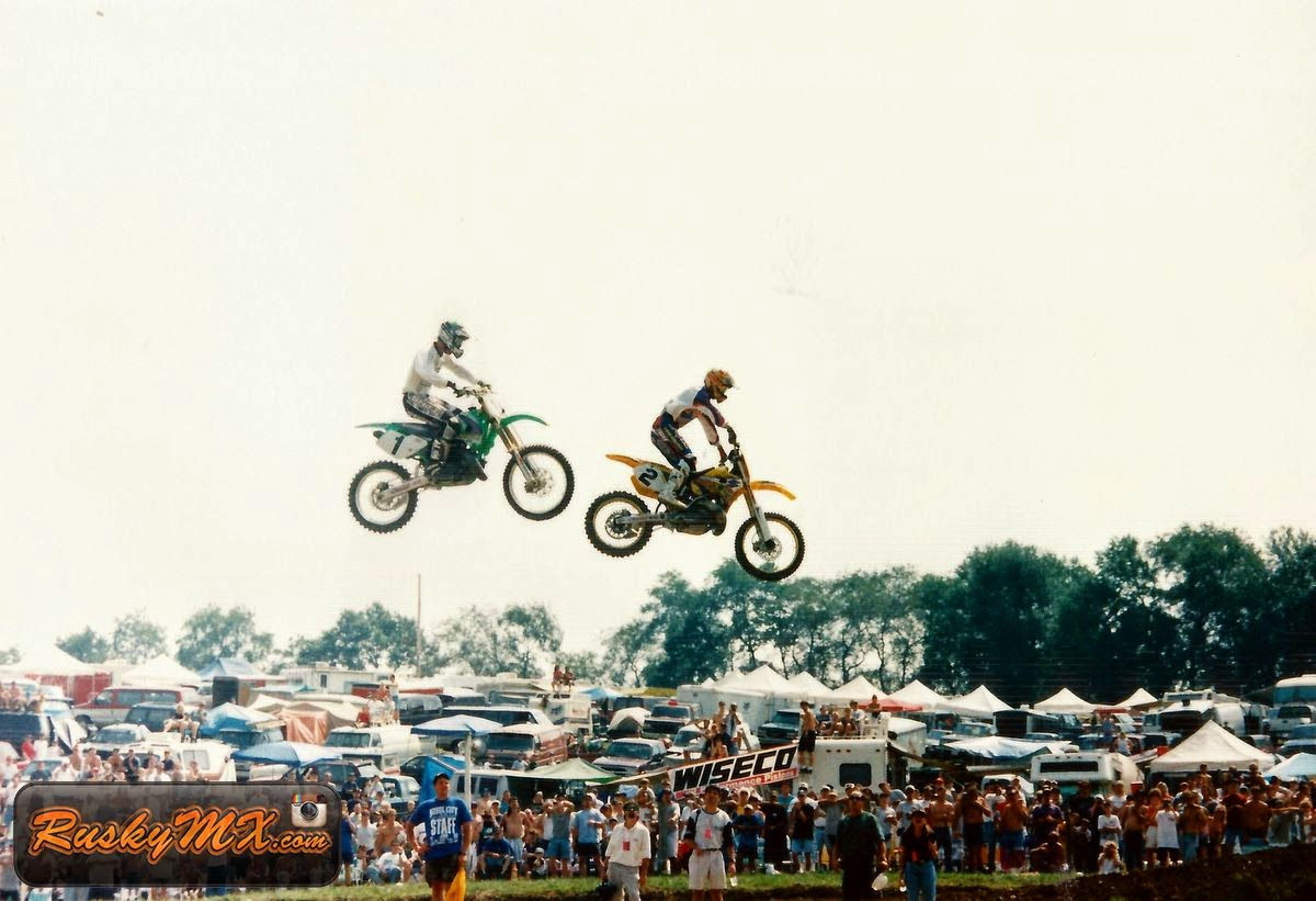Jeremy McGrath Steel City 1997
