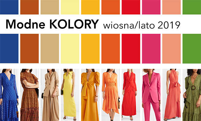 Modne kolory 2019