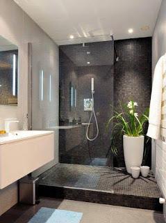 حمام مودرن بتصميم عصري جميل