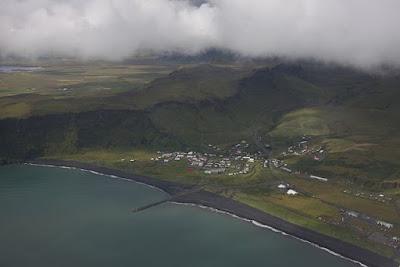 Vista aérea de Vik