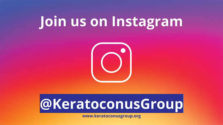 Join us on Instagram @KeratoconusGroup