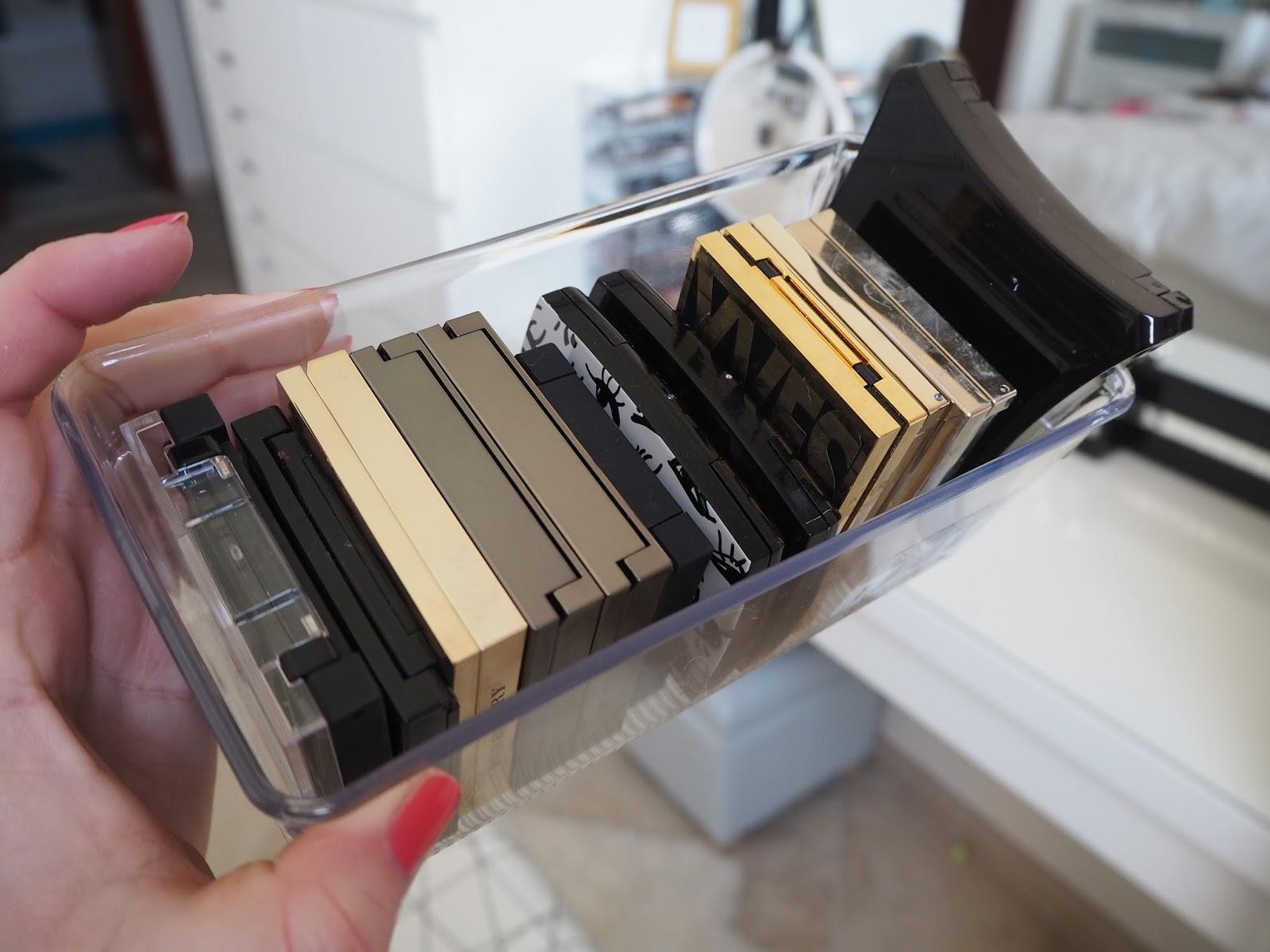 make up storage ideas
