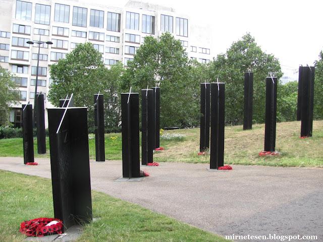 Лондон - Памятник воинам Новой Зеландии