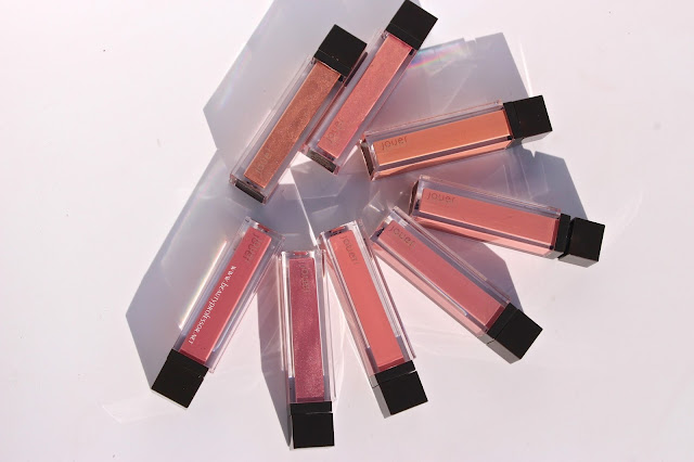jouer long wear lip creme swatches