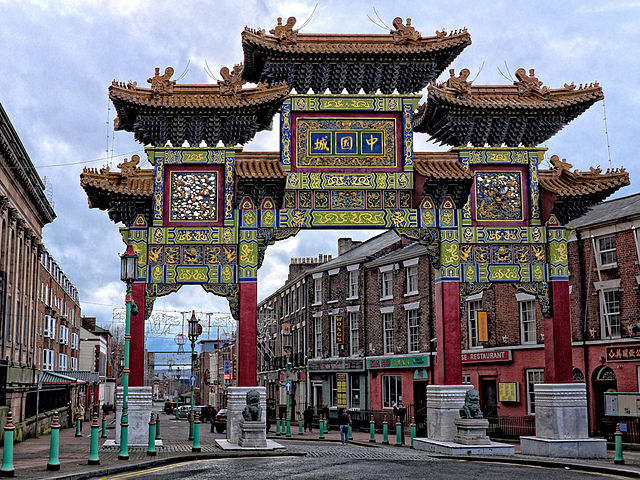Chinatown, Liverpool, England