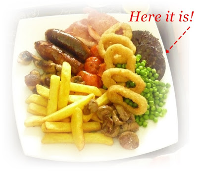 real man's fry up