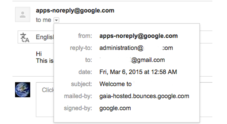 Google vulnerability to Send Phishing Emails