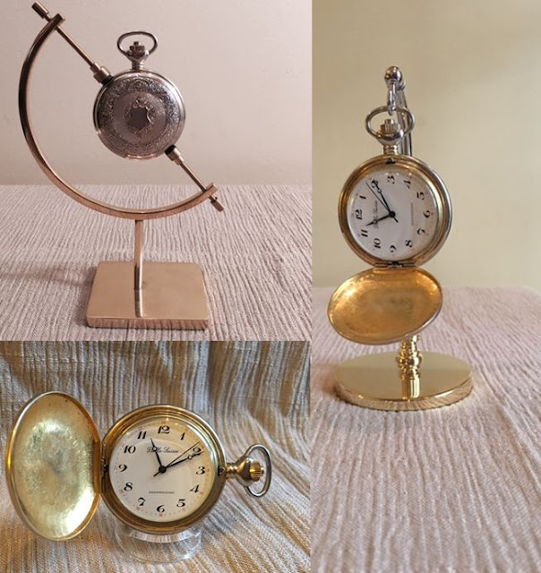 how to display pocket watches, acrylic stands for pocket watches, brass stands for pocket watches