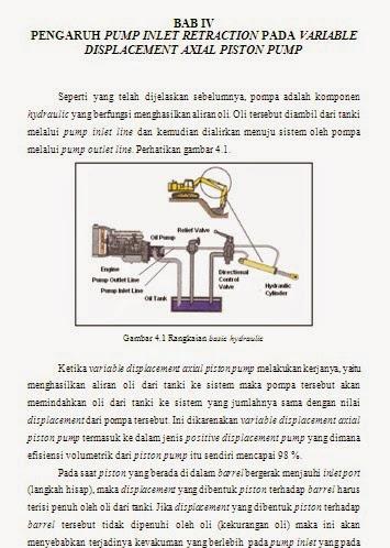 BAB IV - Tugas Akhir (Pengaruh Pump Inlet Obstacle dan