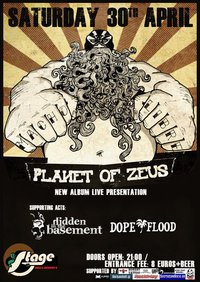 [Live Report] Planet Of Zeus, Hidden In The Basement, Dope Flood @ Larissa, 30/04/11