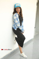 Actress Tejaswi Madivada Stills in Balck Long Dress at Babu Baga Busy Movie Interview  0046.jpg