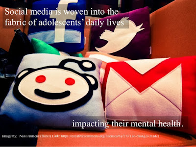 The Impact of Social Media on Adolescents' Mental Health. Adrianna Nystedt