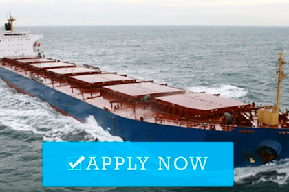 Master, Chief Mate, Chief Engineer, 2nd Engineer For Bulk Carrier Ship