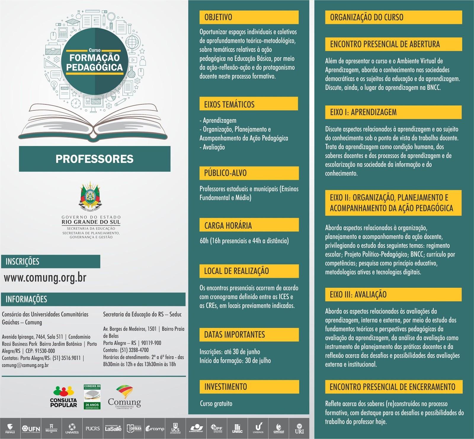 09673ac3d Site para inscrição nos cursos  http   www.comung.org.br