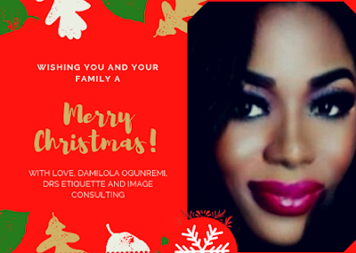 Merry Christmas 2018 from DRS Etiquette and Image Consulting.
