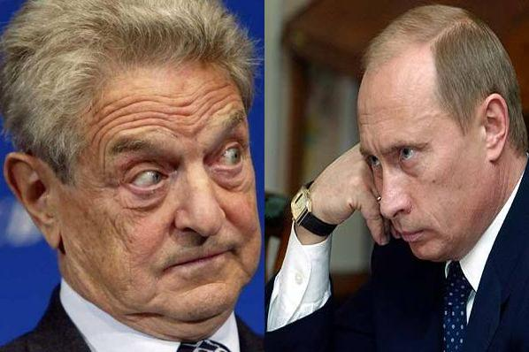 Propaganda Putin Issues Arrest Warrant Against George