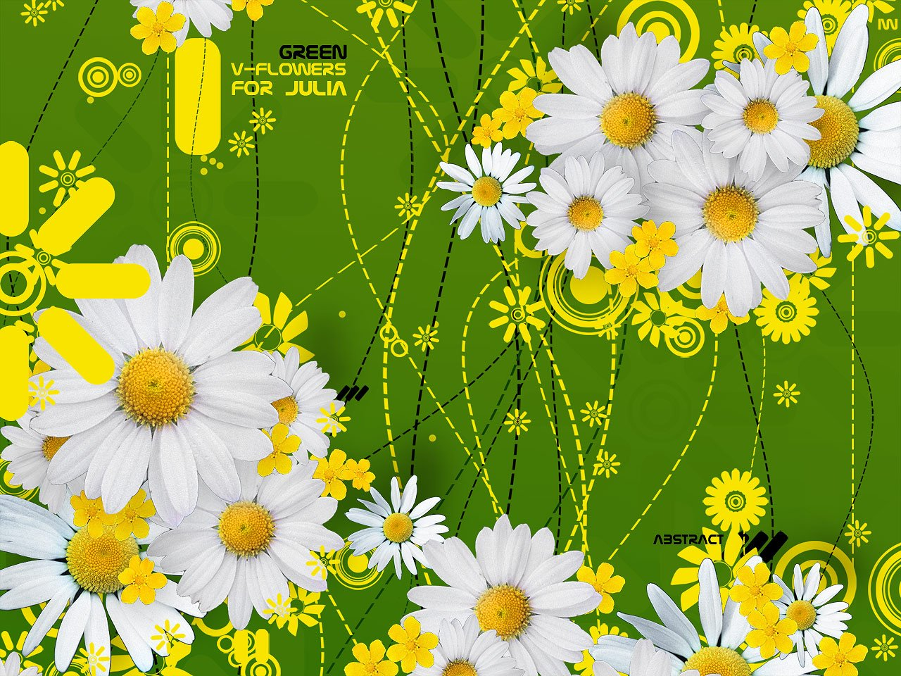 HD Wallpapers: 3D Art Flowers Wallpapers