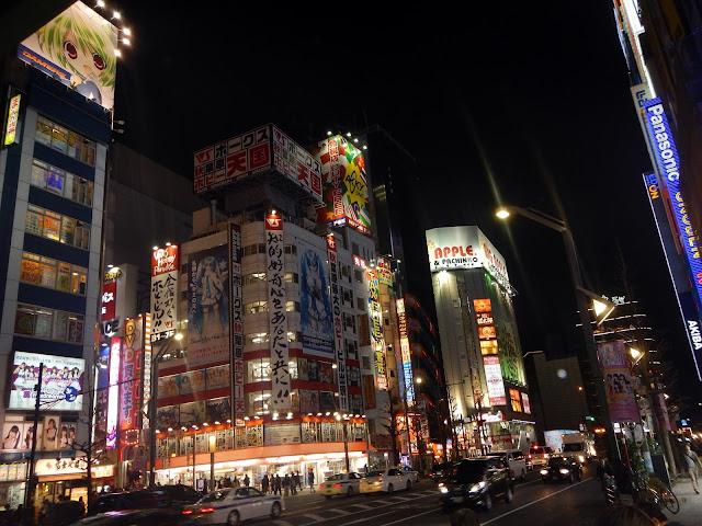 Akihabara de noche