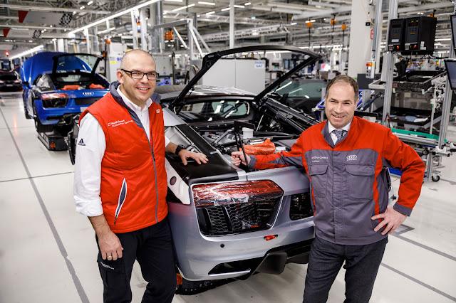 Audi produz a 50º unidade do R8 LMS GT4