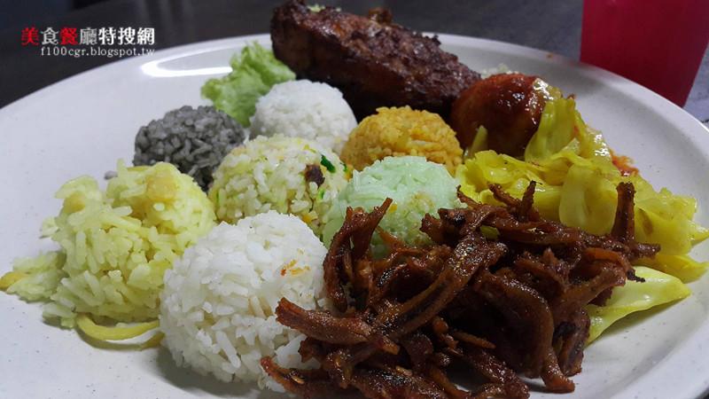 [馬來西亞] 檳城【NASI 7 BENUA】七龍珠彩色咖哩飯 你一定要吃看看
