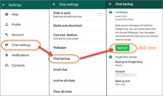 WhatsApp Transfer between Android&iPhone: How to Transfer