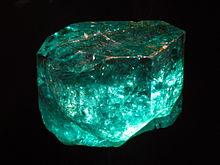 largest emerald, emerald gemstone, uncut emerald