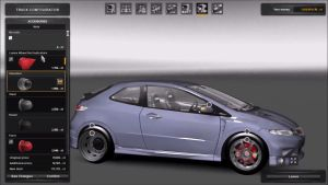 Car - Honda Civic type R V 1