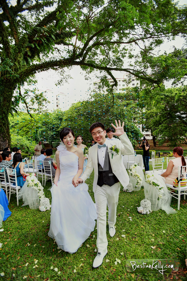modern western wedding