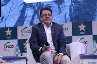 Arjun Rampal with Ajit Andhare At FICCI FRAMES 2017 007.JPG
