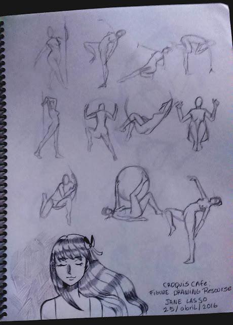 Práctica de poses