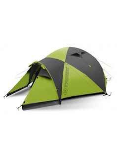 green tent for camping