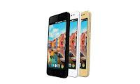 SmartFren Andromax A hadir dalam 3 Warna Hitam, Putih dan Gold