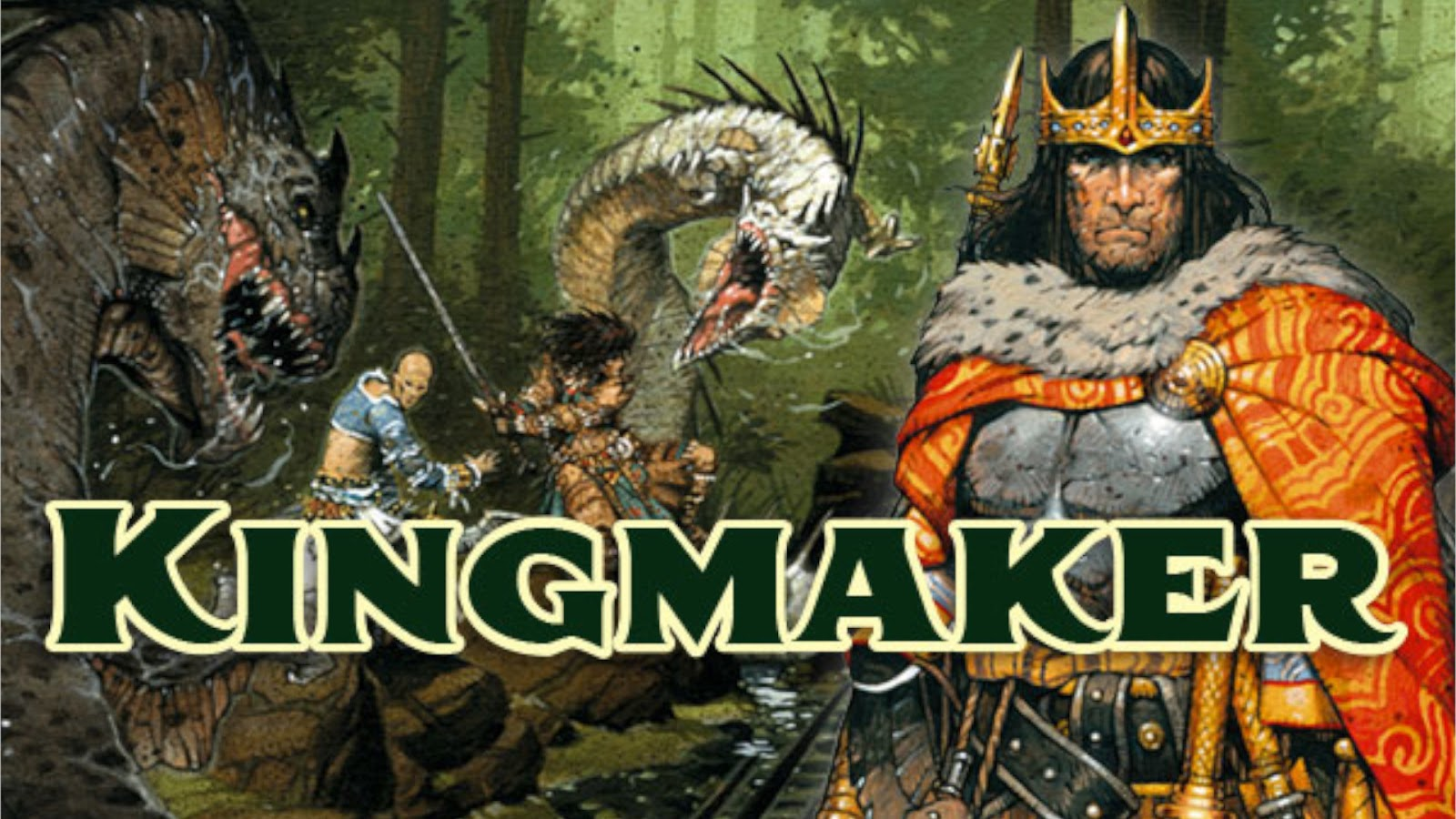 Kickstarter Highlights Revised Kingmaker