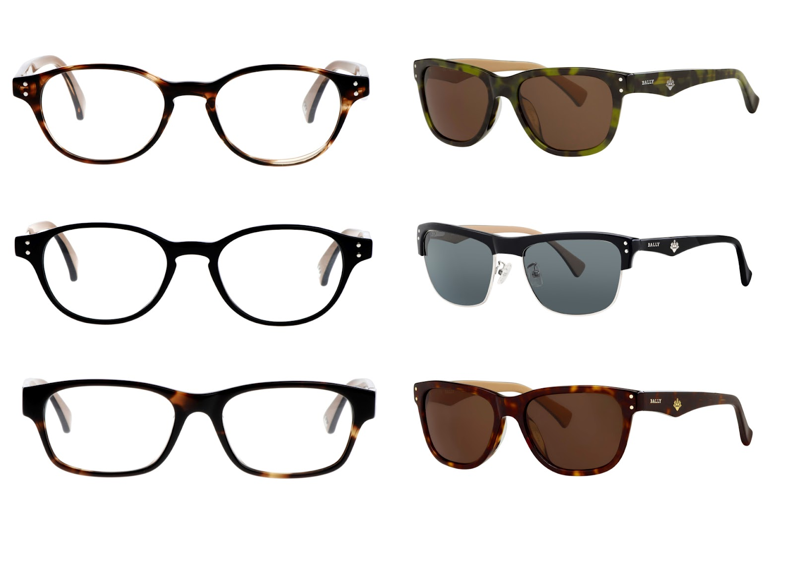 BALLY LAUNCHES EYEWEAR COLLECTION