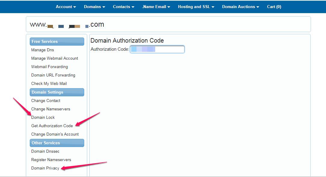 get authorization code enom