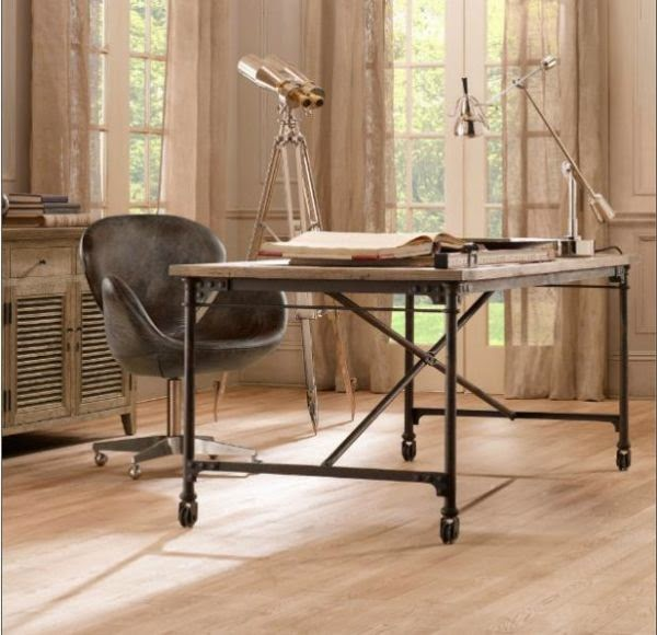 25 Awesome Rustic Home Office Designs: DIY Office: 5 Cool Desks Made From Doors