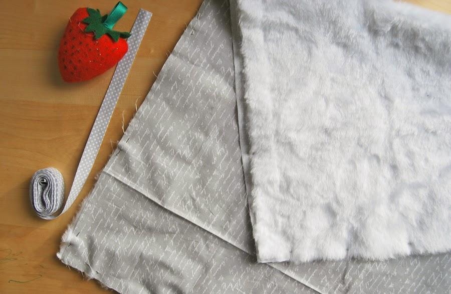 Tutorial fácil para una manta de bebé. DIY baby blanket