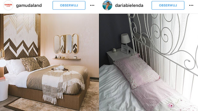 zdjęcia sypialni