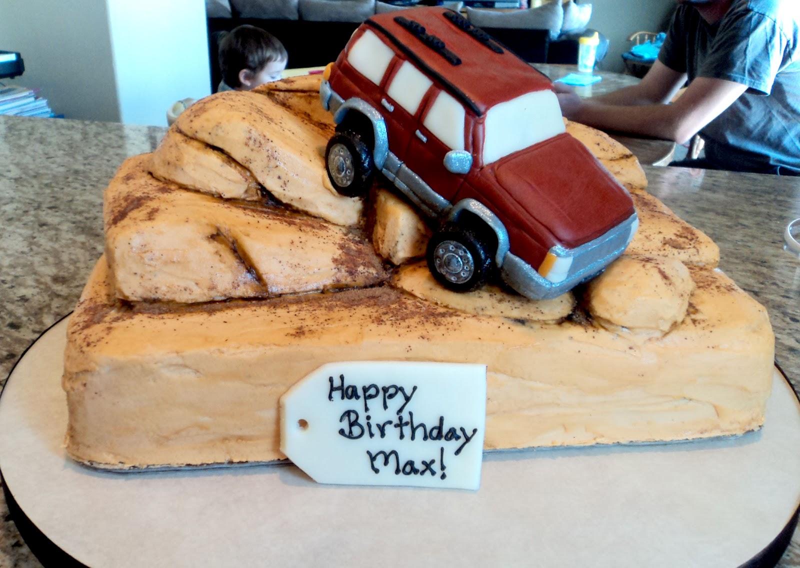 Jeep Birthday Cake Images Bjaydev for