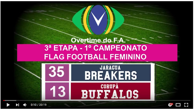 Jaraguá Breakers x Corupá Buffalos