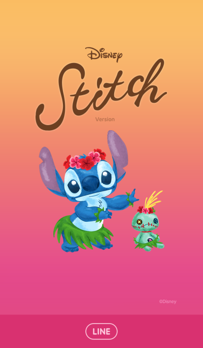 Stitch (Sunset)