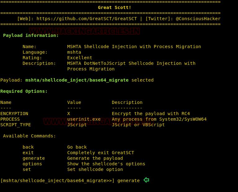 Bypass Application Whitelisting using mshta exe (Multiple Methods)
