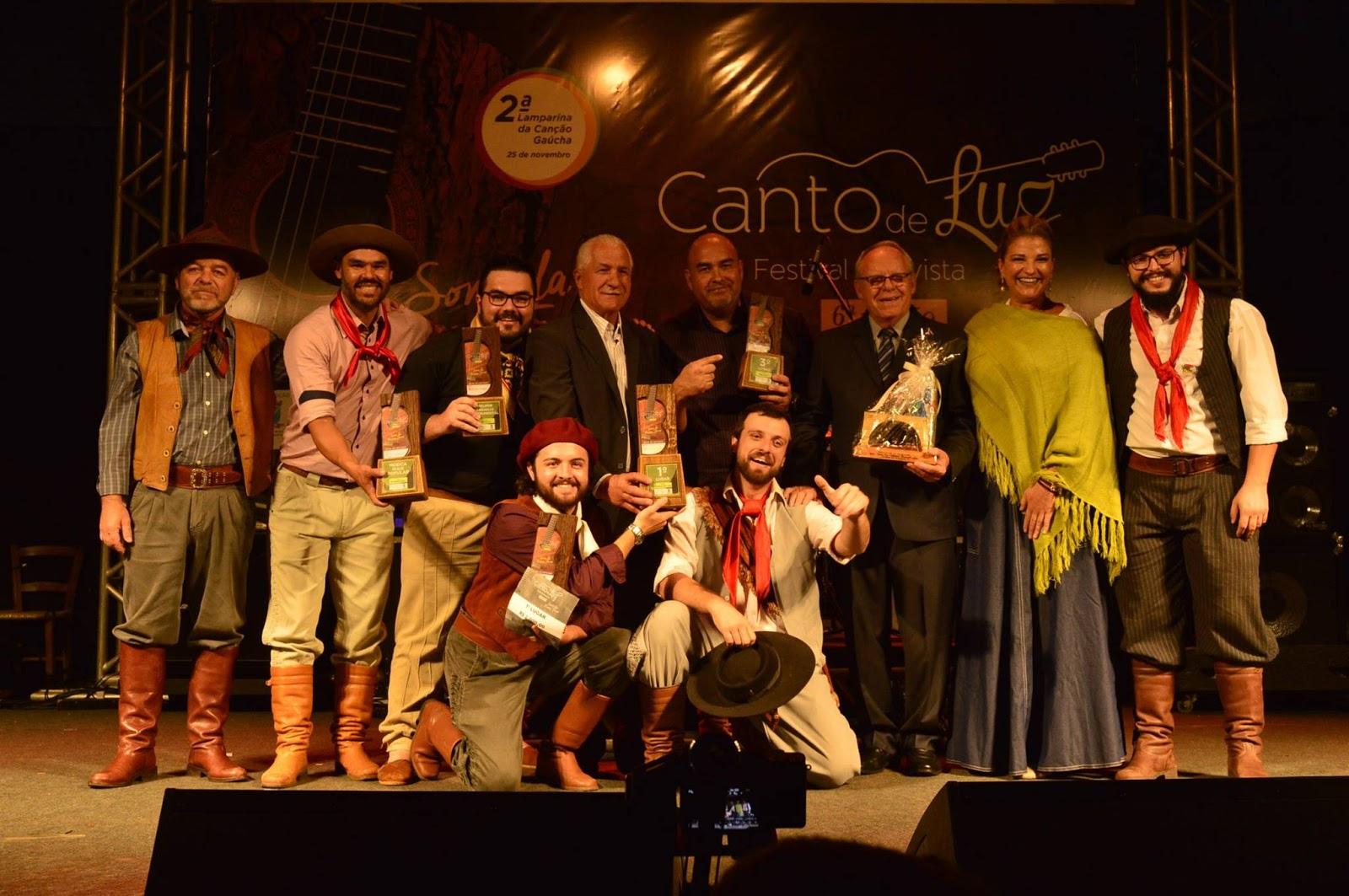 As inscrições para a 7ª edição do Festival Nativista Canto de Luz de Ijuí estão abertas até o dia 28 de setembro