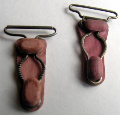 podwiązki   vintage garter