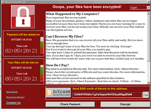 Cyber biggest ransomware attack in history