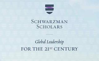 Schwarzman Scholars (Fully Funded Scholarships Programme in China)