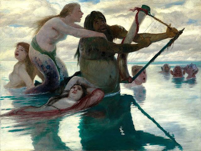 Arnold Böcklin: In mare