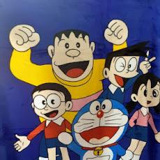 Selimut Karakter : Tayo + Doraemon 35.000